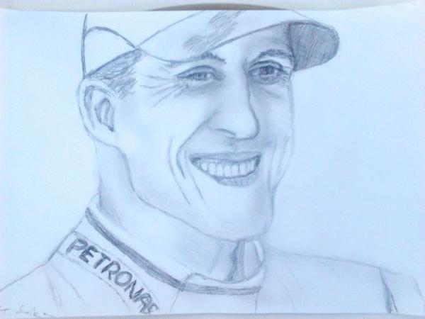 Michael Schumacher by Blue-Keira